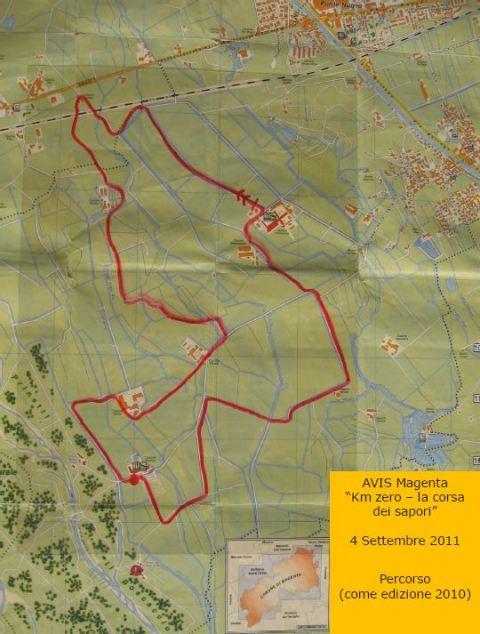 Percorso km zero - La Corsa dei Sapori